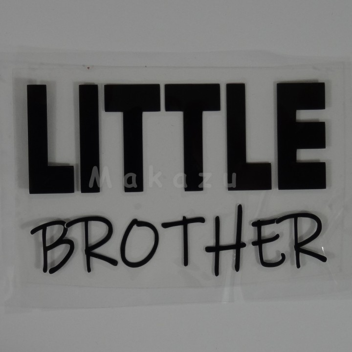 LITTLE BROTHER 13x8,5 cm