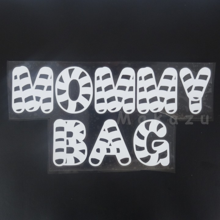 MOMMY BAG wzór 1 20x10 cm