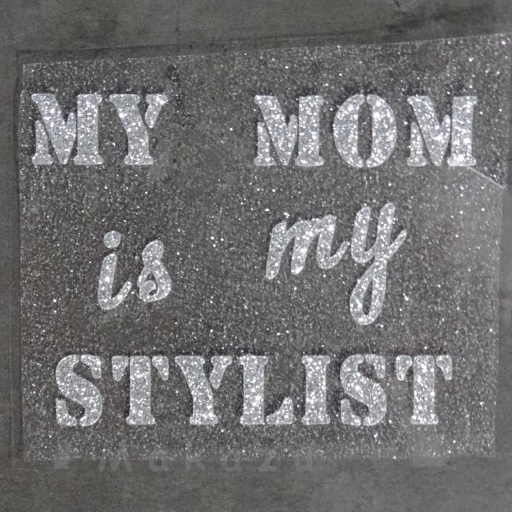 MY MOM is my STYLIST